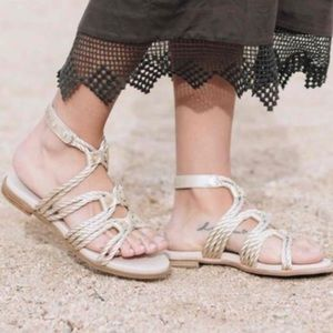 Yosi Samra Shoes - Yosi Samra Marina Rope Gladiator Sandals